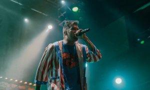 Singer Jordan Pundik of New Found Glory performing at House of Blues Las Vegas in Las Vegas, Nevada on July 5th 2019