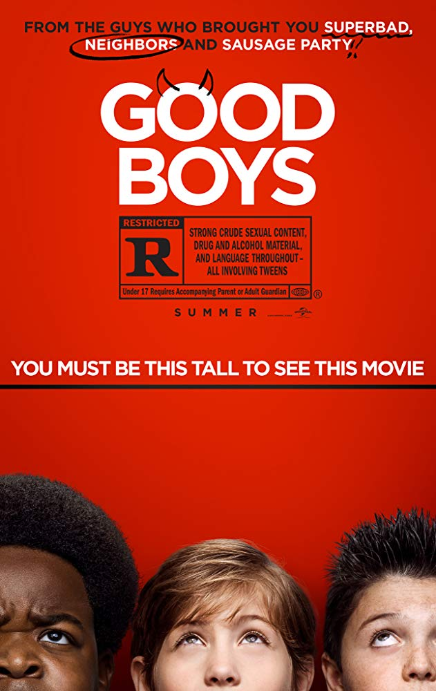 Good Boys [2019] official movie poster