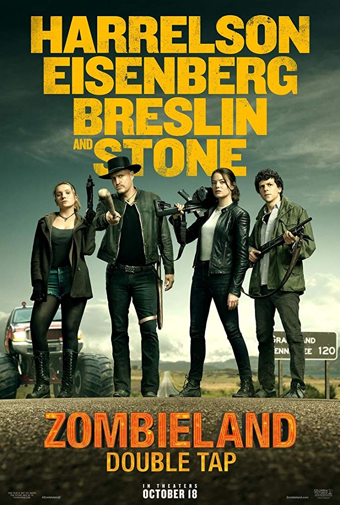 Zombieland: Double Tap [2019] official move poster