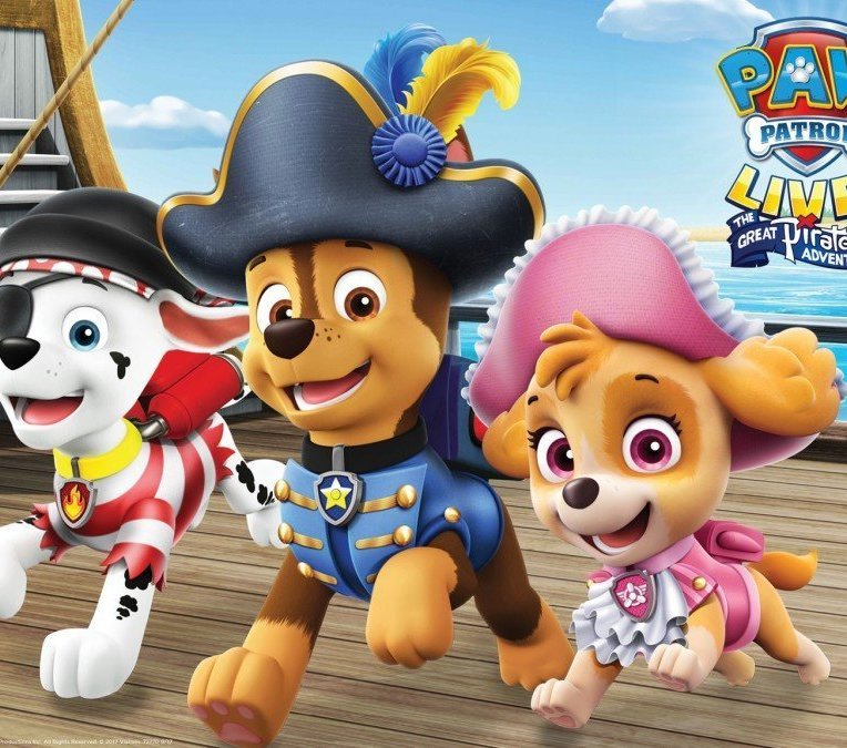 PAW Patrol Live! The Great Pirate Adventure 2019