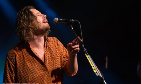 Australian indie rock-folk band Boy & Bear performing at the Commodore Ballroom in Vancouver, BC on October 2nd, 2019.