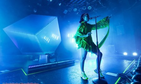 English singer-songwriter Charli XCX performing at The Commodore Ballroom in Vancouver, BC on October 5th, 2019.