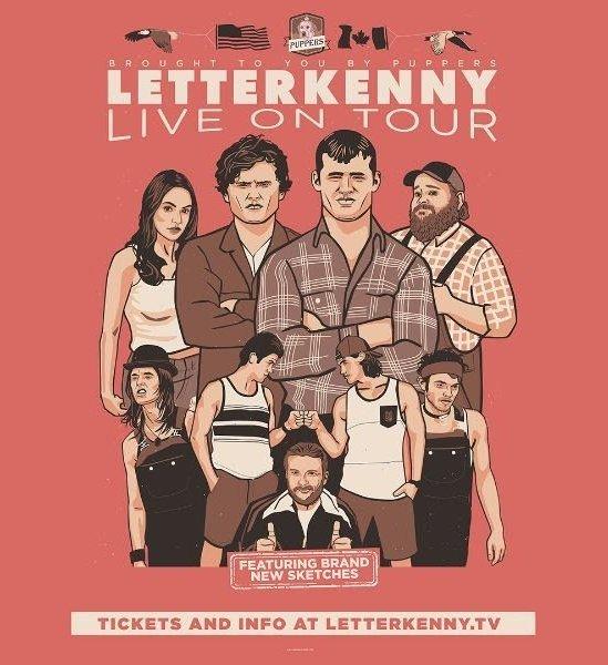 letterkenny live 2019 tour