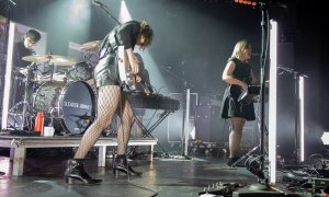 American rock band Sleater-Kinney performing at The Commodore Ballroom in Vancouver, BC on November 21st, 2019 © Sharon Steele