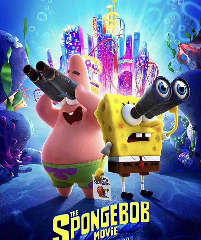 The SpongeBob Movie: Sponge on the Run [2020] movie poster