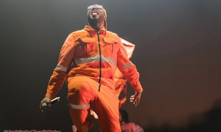 American rapper Schoolboy Q performing at Winter Breakout 2019 at the Pacific Coliseum in Vancouver, BC on December 13th, 2019