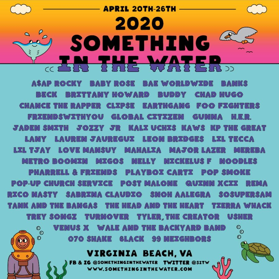 Something In The Water 2020 Lineup