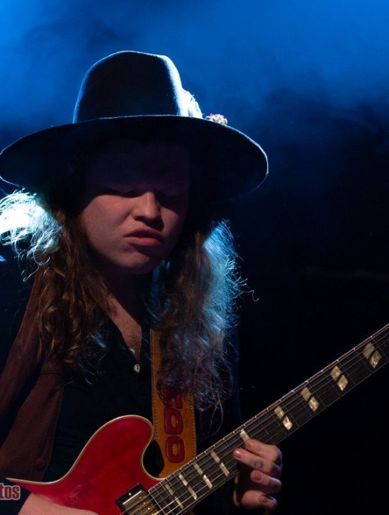 American southern rock/ blues outfit The Marcus King Band performing at The Commodore Ballroom in Vancouver, BC on February 9th, 2020