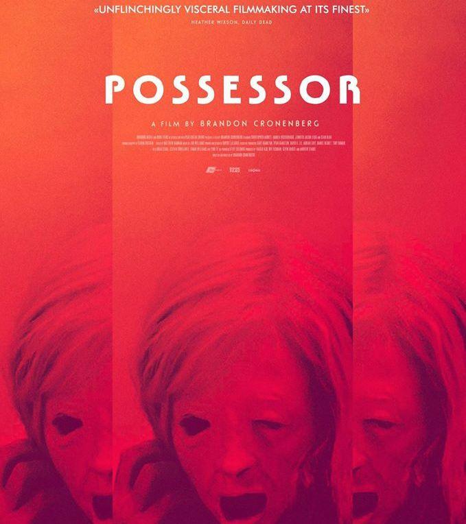 Possessor (2020) movie cover art poster admat