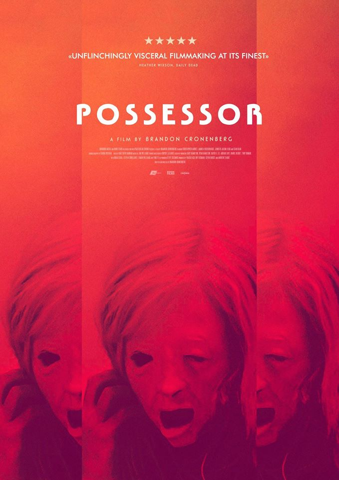 Possessor (2020) movie cover art poster admat