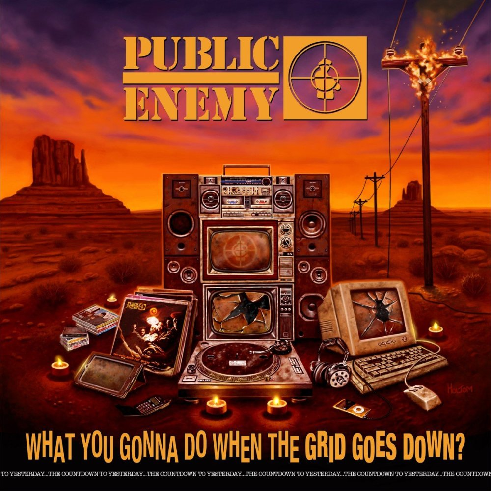 public enemy 2020 album What You Gonna Do When The Grid Goes Down?