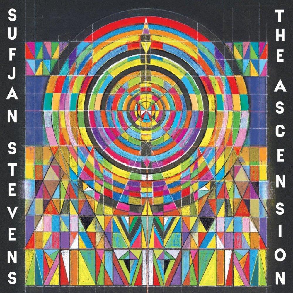 The Ascension by Sufjan Stevens cover art album 2020