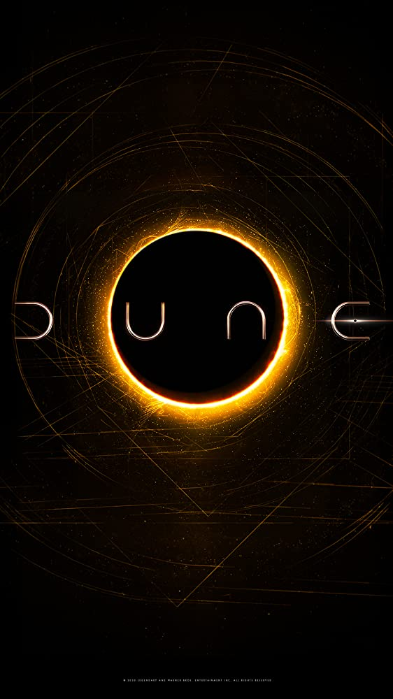 Sci-Fi Drama 'Dune' [2020] movie poster cover artwork