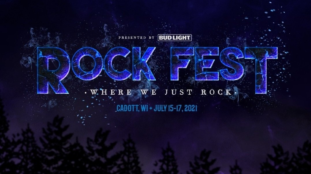 Rock Fest 2021 title logo poster admat artwork