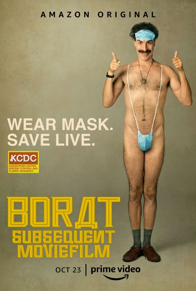 Borat: Subsequent MovieFilm [2020] poster cover artwork