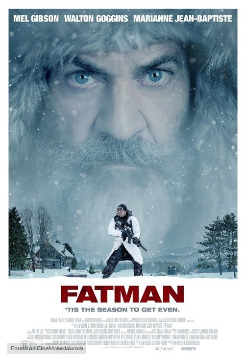 fatman 2020 poster artwork cover movie mel gibson