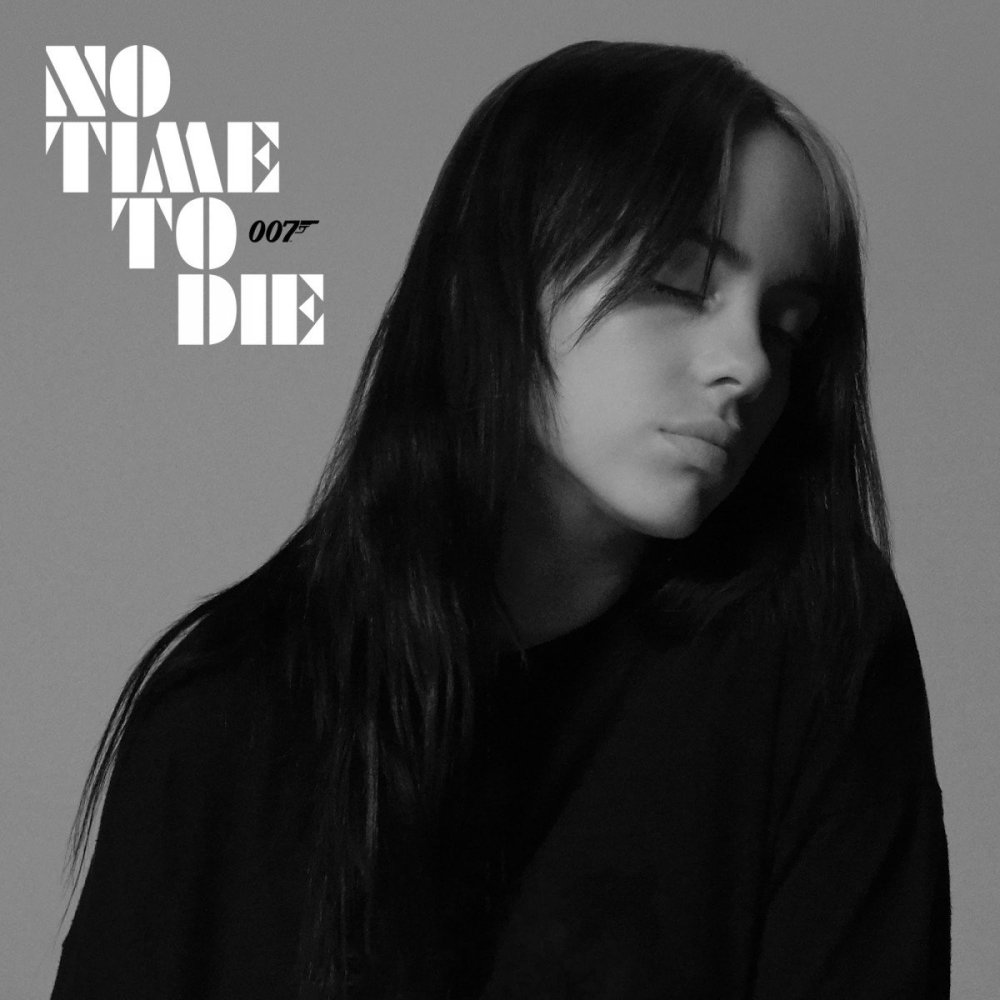 billie eilish no time to die cover artwork poster 2020