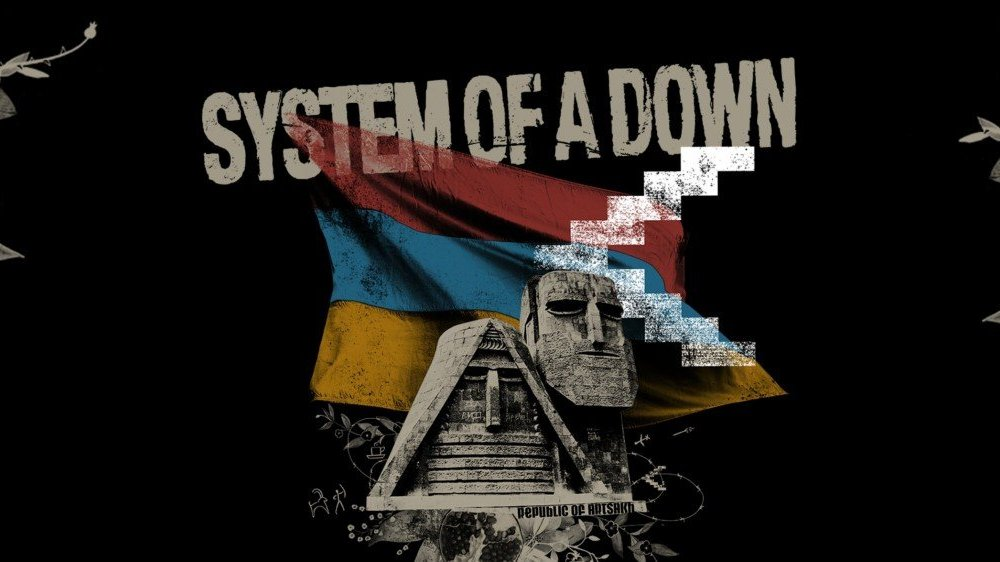 system of a down 2020 cover art image logo title