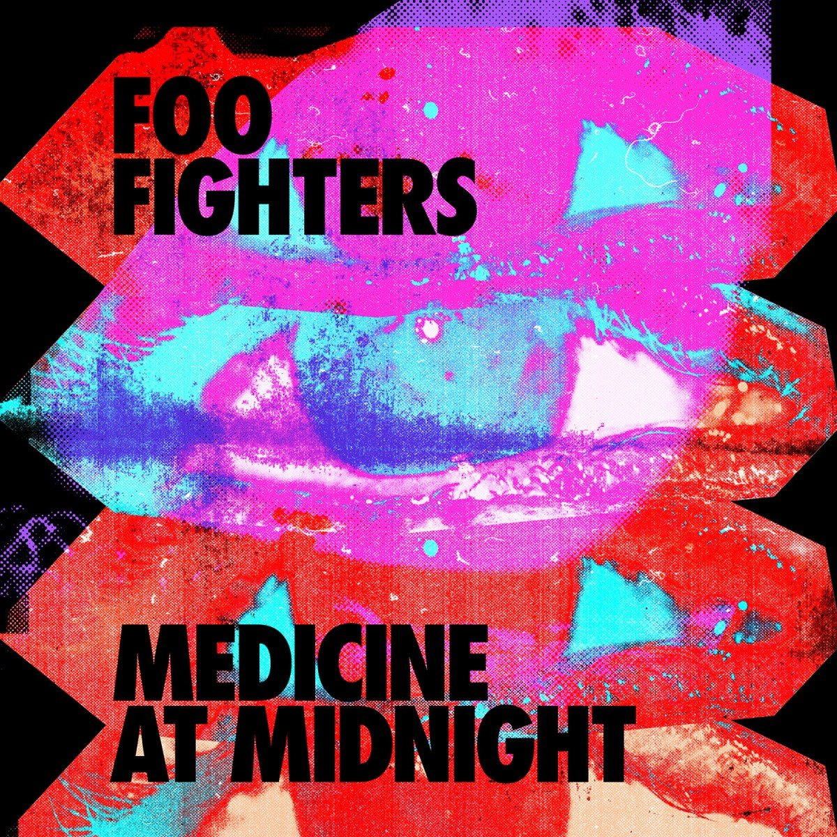 foo fighers album Medicine At Midnight 2021 cover art poster