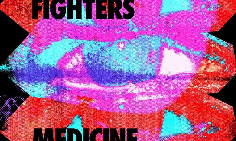 foo fighers album Medicine At Midnight 2021 cover art poster