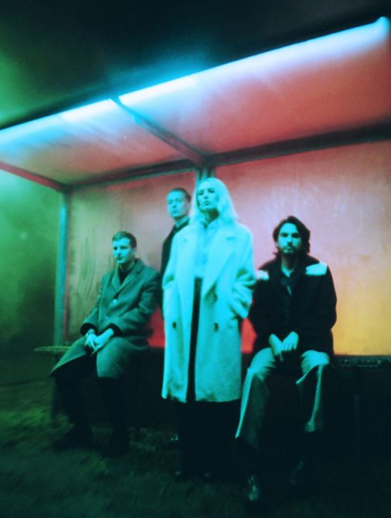 wolf alice 2021 album cover blue weekend art poster