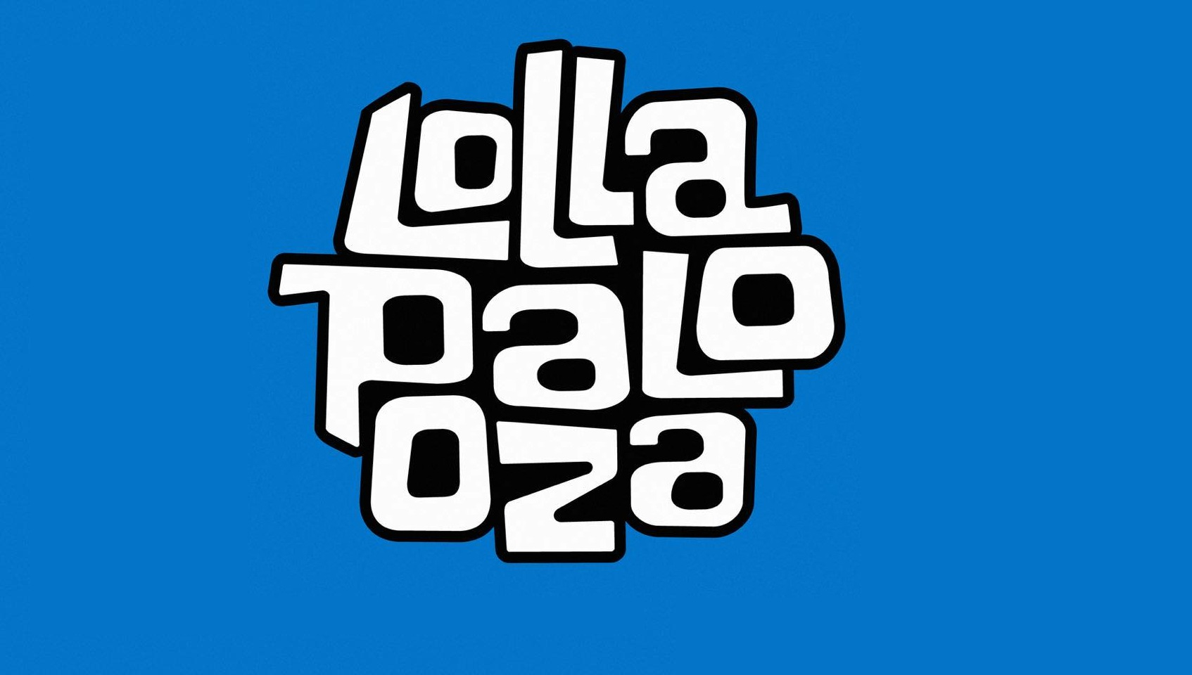 Lollapalooza title banner text festival music