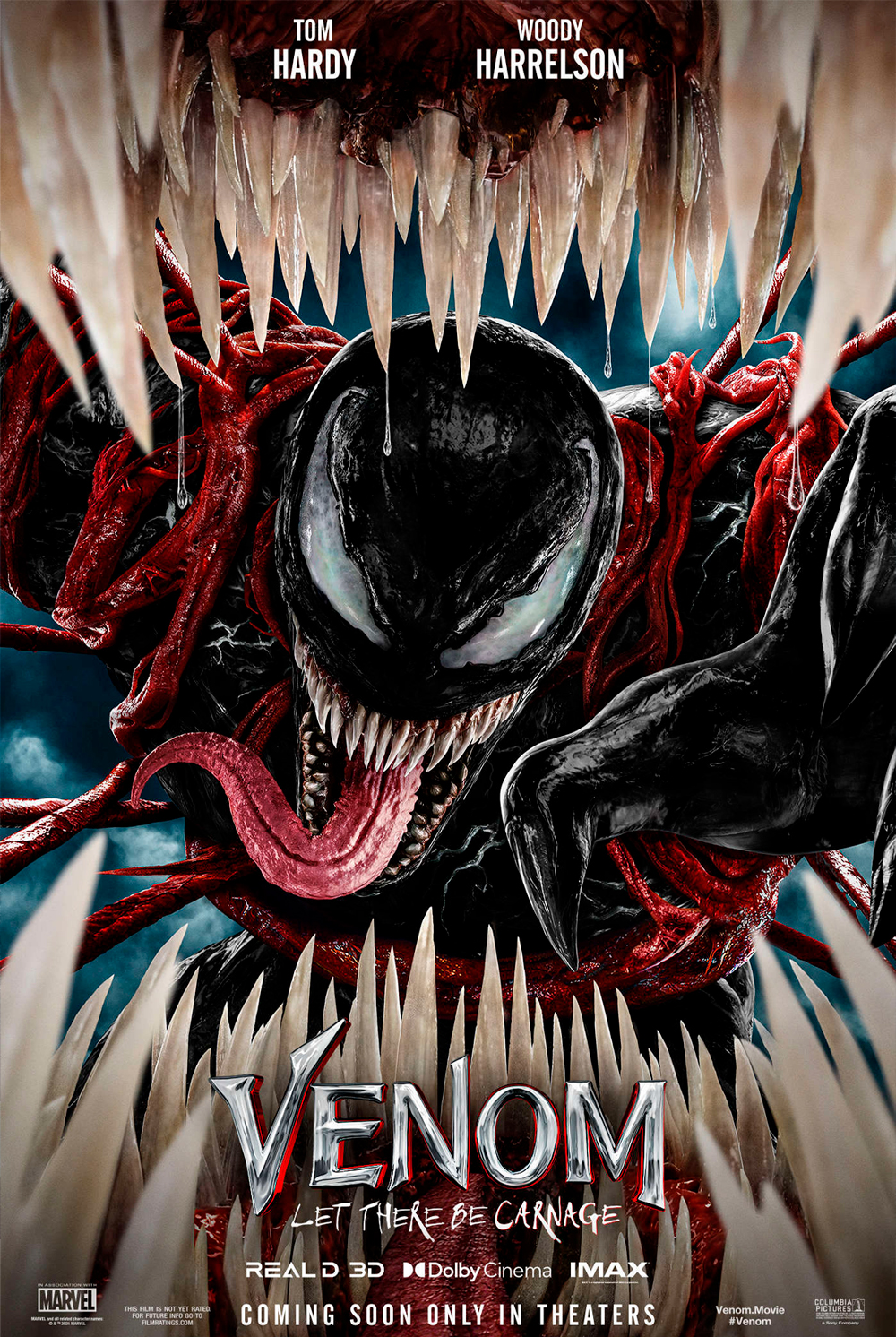 Venom: Let There Be Carnage (2021) movie poster