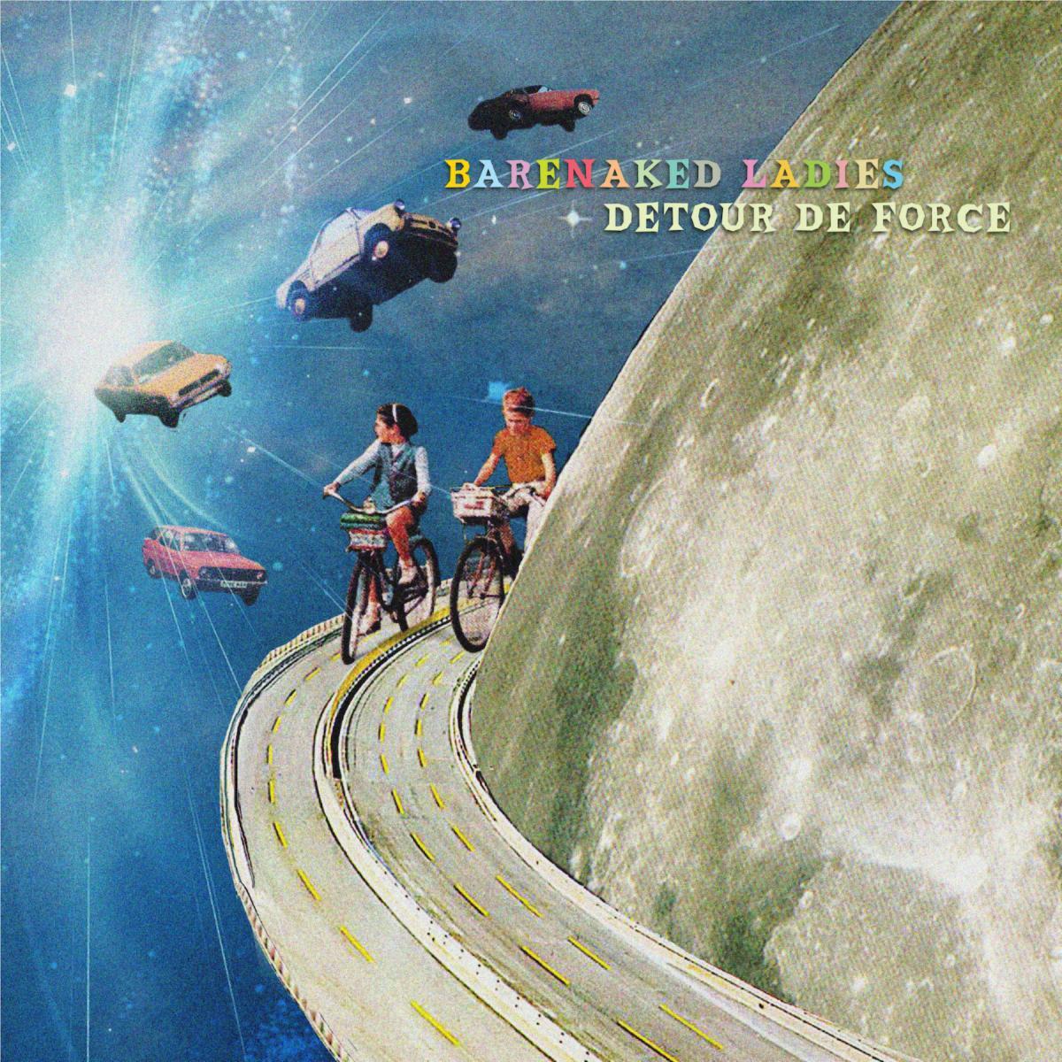 Barenaked Ladies new album 'Detour de Force' 2021 cover art