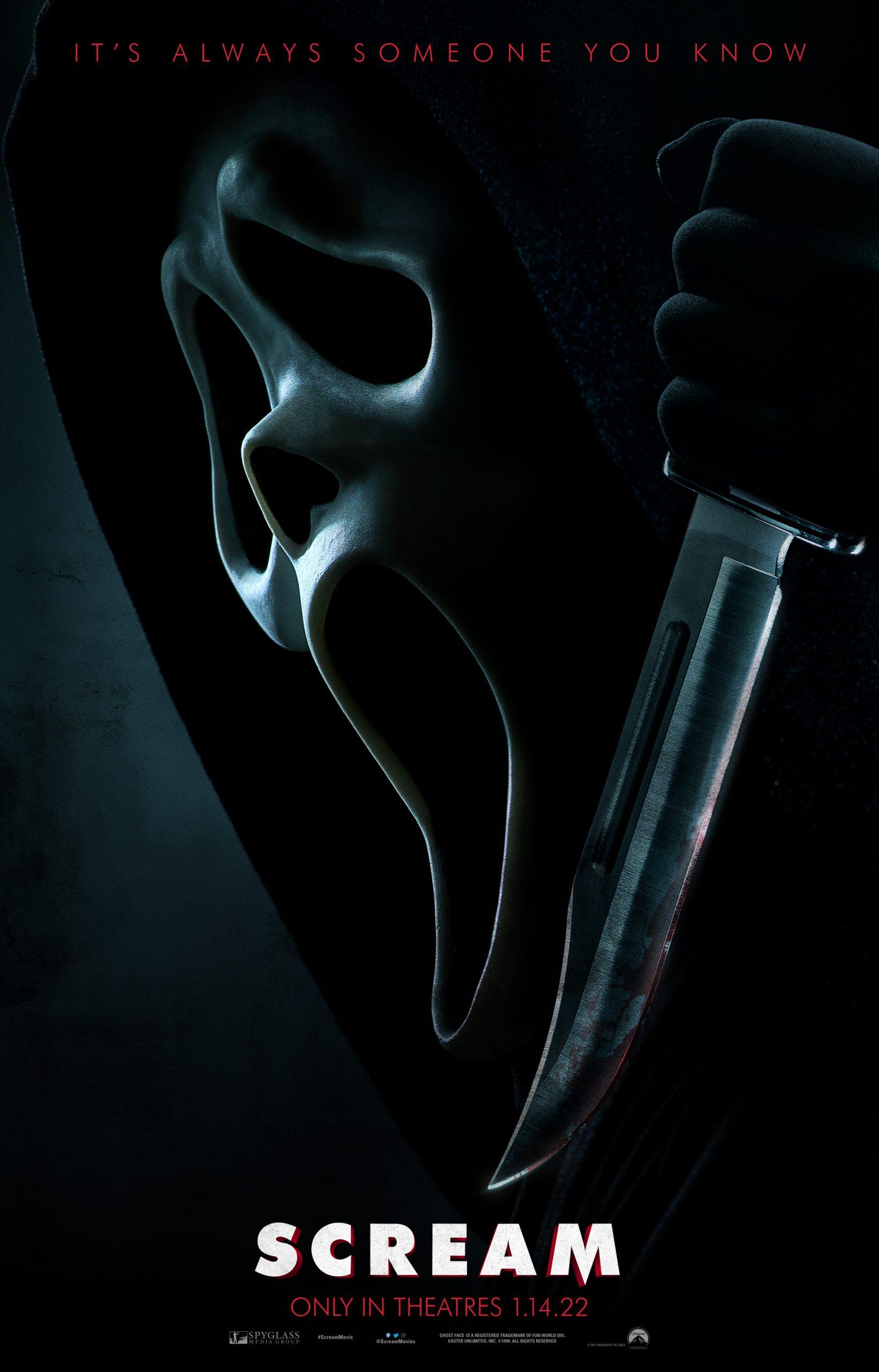 horror movie scream 2022 movie poster cover admat