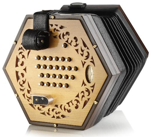 Wakker English Concertina W-E2b (modern)