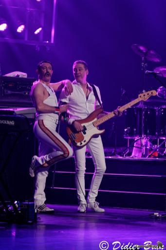 308A9309 - Freddie Mercury revit le temps d'une soirée à la salle Pleyel avec One night of Queen
