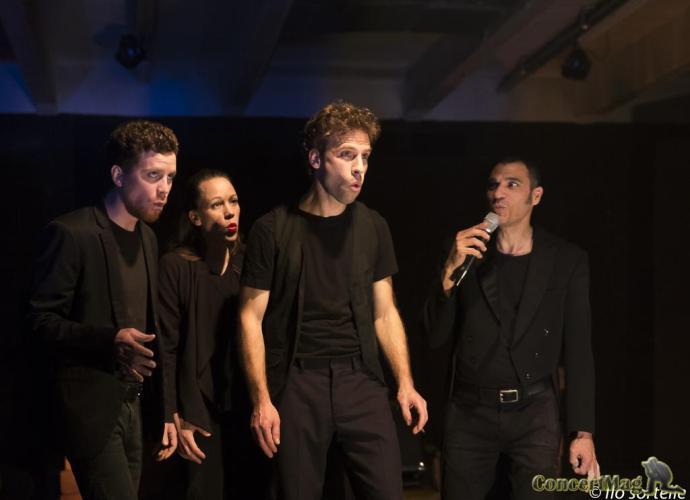 Slide Humanophones - Les Humanophones au Théâtre de Verre