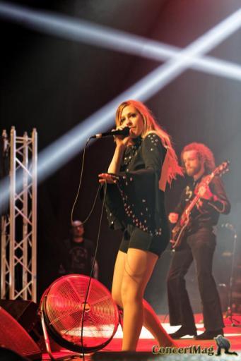 308A3662 DxO - Rock Aisne Festival à Chauny 1er avril 2017 avec en têtes d'affiches Nina Hagen et Chris Slade batteur d'AC/DC