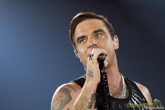 Robbie 19 - Robbie Williams fait le show à l'Accor Hôtels Arena