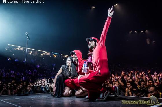 DSC8700 - Shaka Ponk offre un concert d'exception à l'AccorHotels Arena