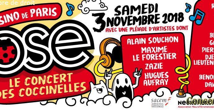 180917 04 OSE CONCERT DES COC CINELLES NOV2018 Bannière 1 - Le concert des Coccinelles au Casino de Paris