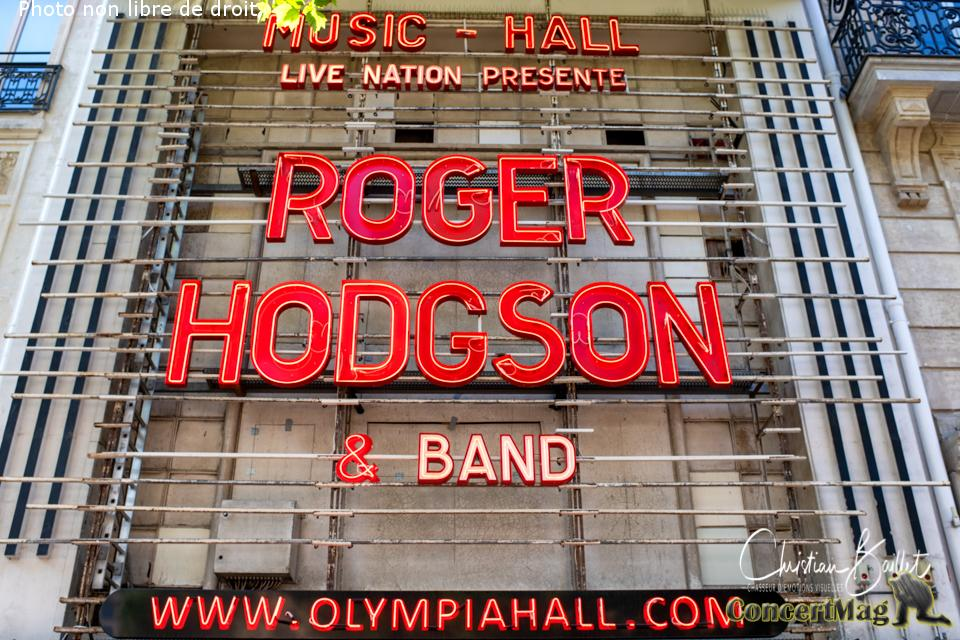 Christian Baillet Paris 2019 Roger Hidgson Olympia 2 - Roger Hodgson à l'Olympia, « Something Never Change ».