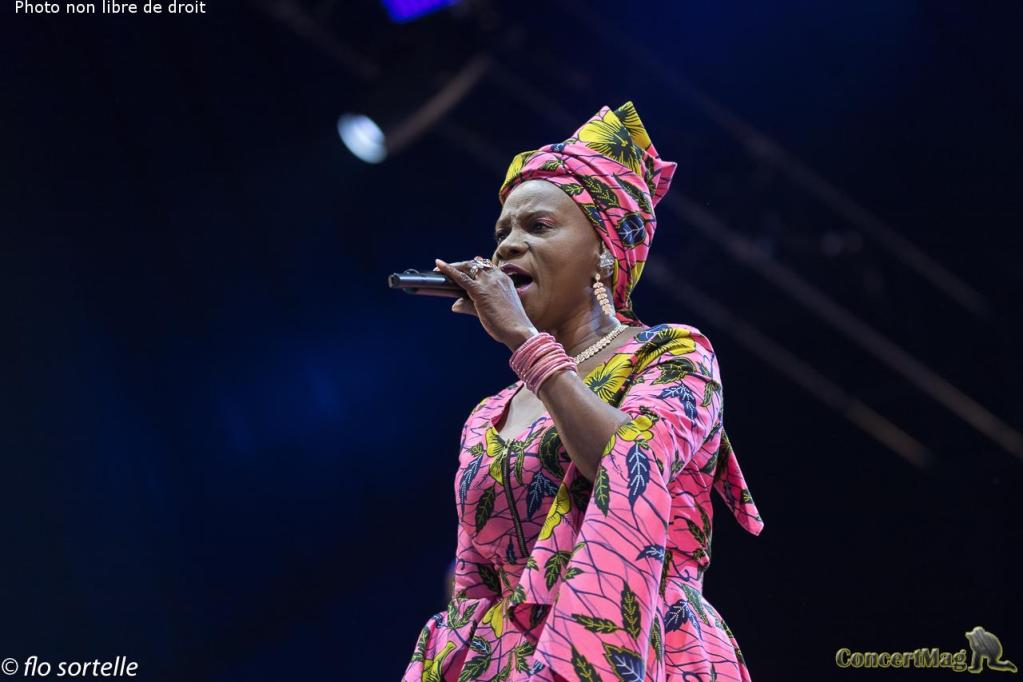 "A Kidjo 2 - Solidays 2019, ""Free your mind"""