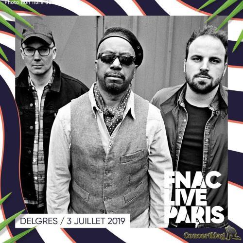 Delgres - Interview du groupe Delgrès, invités du FNAC LIVE Paris
