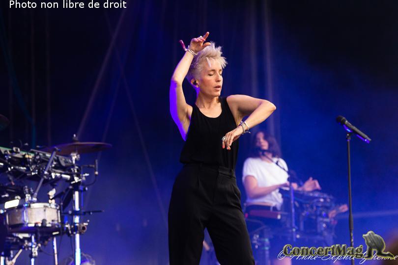 IMG 2583 - Les Nuits Secrètes : Jeanne Added , la petite boxeuse rock-électro