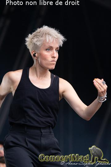 IMG 2608 - Les Nuits Secrètes : Jeanne Added , la petite boxeuse rock-électro