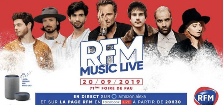37310240 32992731.jpg e1570785351736 - Le RFM Music Live de retour à Pau