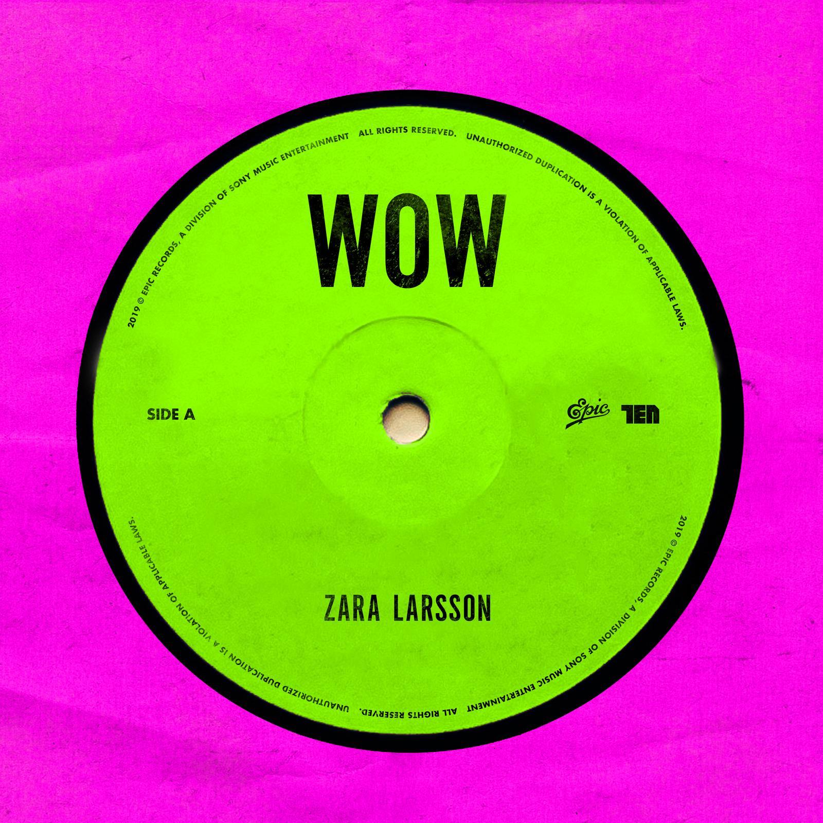 cover WOW Zara Larsson - cover WOW Zara Larsson
