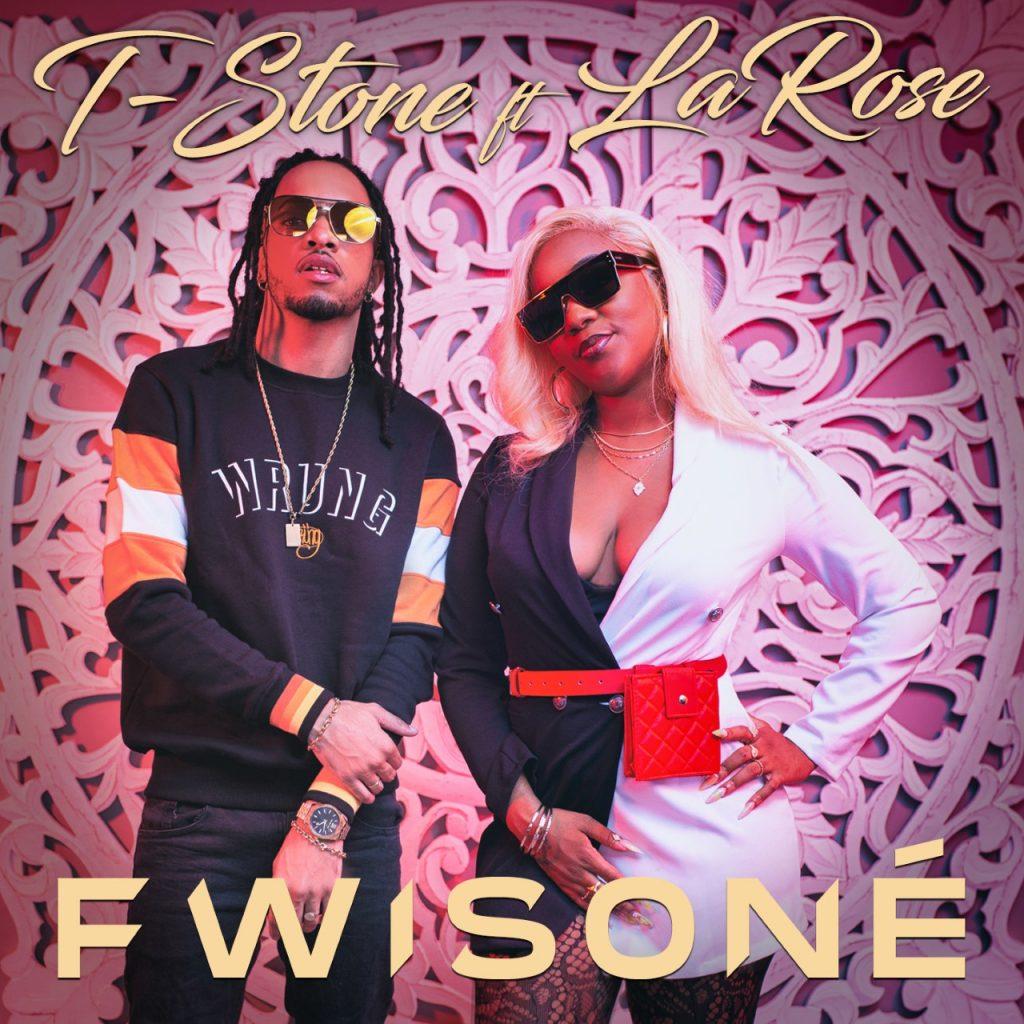"""thumbnail Cover T Stone Ft LaRose Fwisone 1024x1024 - T-Stone et LaRose """"fwisonnent"""" ensemble dans """"Fwisoné"""""""