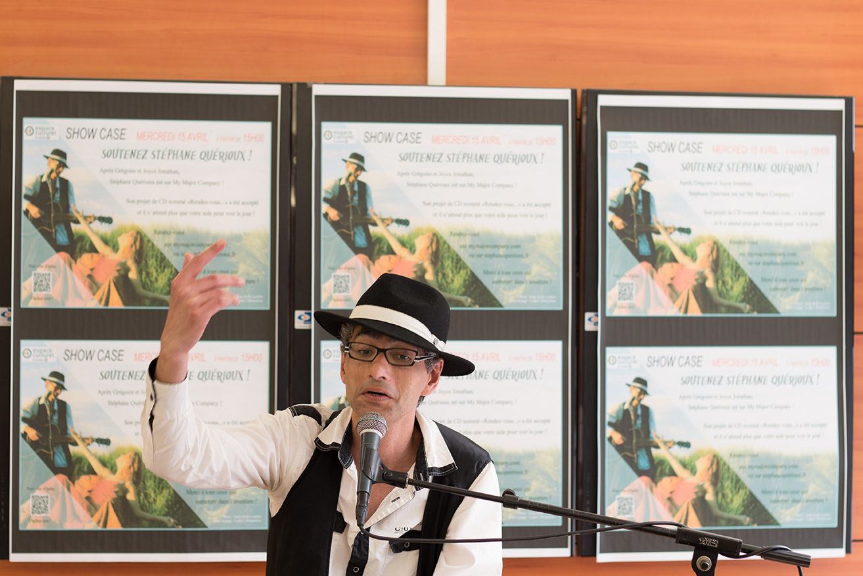 St phane querioux en showcase au leclerc poitiers for Leclerc poitiers