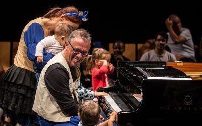 """""""Piano de Gatas"""" com Mário Laginha – Centro Cultural Olga Cadaval 2017"""