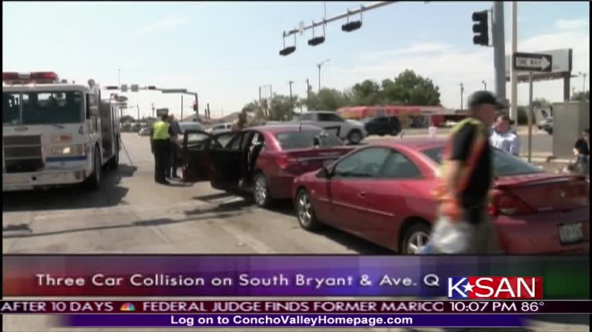 Person and Dog Injured in Three Car Collision_68505589