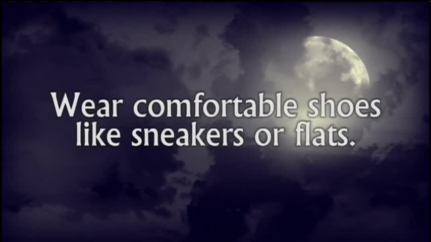 Halloween Safety Tips - Wear Comfortable Shoes_94758931