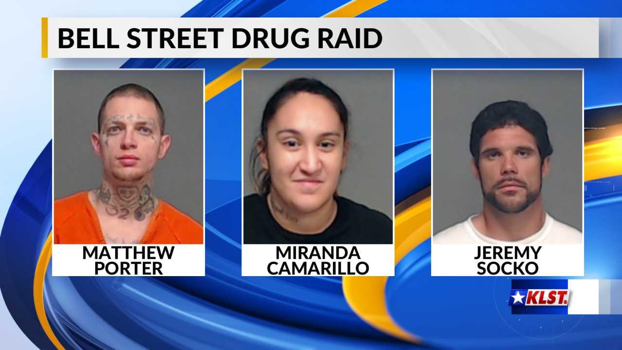Mug shots from drug raid