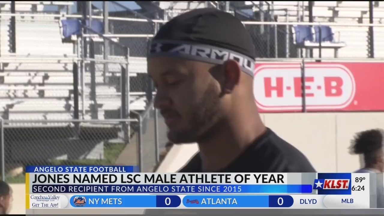 Markus Jones named LSC male athlete of the year